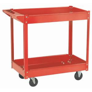 Two Shelf Steel Service Cart