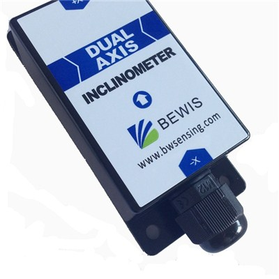 Voltage Single Axis Low Cost Inclinometer