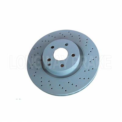 Slotted BRAKE DISC FOR MERCEDES-BENZ (2214210612)