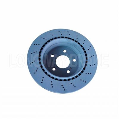 Slotted BRAKE DISC FOR MERCEDES-BENZ CAR( OE2304230412-2)