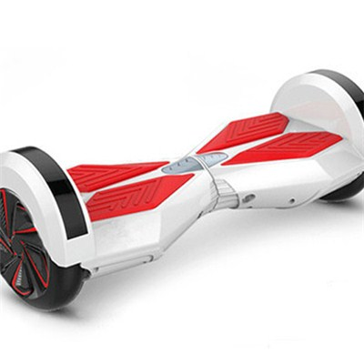 SELF-BALANCING SCOOTER 8 Inch HOVERBOARD WITH SAMSUNG CERTIFIED BATTERY(WHITE RED)