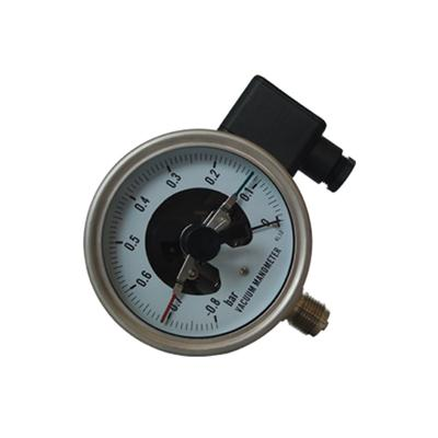 4 Inch 100mm Bottom Wika Type Full Stainless Steel Vacuum Electric Contact Pressure Gauge