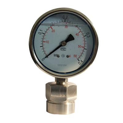 4 Inch Full Stainless Steel Diaphragm Pressure Gauge Certified By CE ISO CMC