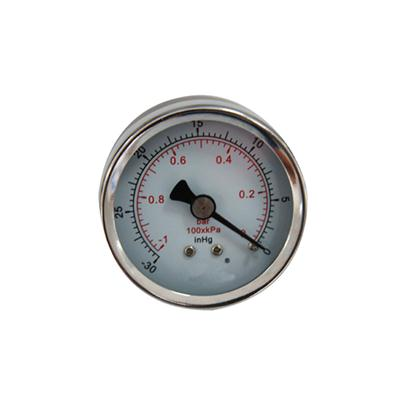 2inch-50mm Black Case With Chrome Ring Pressure Vacuum Gauge