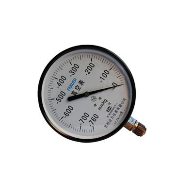 4inch-100mm Bottom Type Black Steel Case Brass Internal Vacuum Pressure Gauges