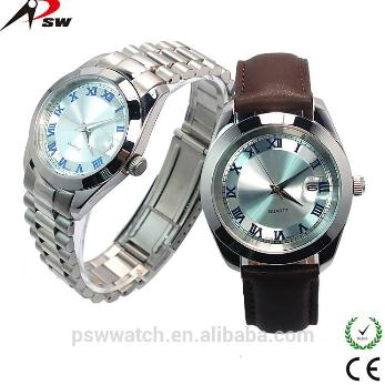 Japan Movt Quartz Watch Stainless Steel Bezel