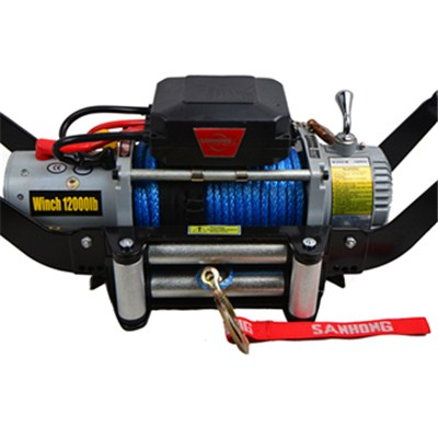 Synthetic Rope 12000LB-6 Detachable Winch Mounting System