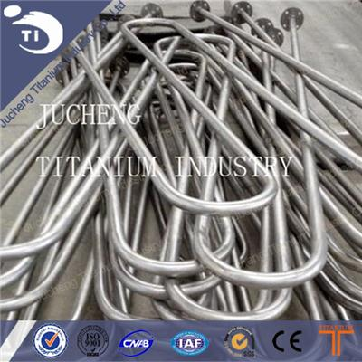 Gr2 Serpentine Tube Titanium Serpentine Tube