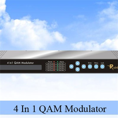 4 IN 1 QAM Modulator
