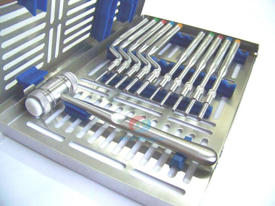 Dental Instruments Kit, Dental Instruments Set, Dental Kit, Dental Mirror Handle, Dental Syringe, Extracting Forcep, Impression Trays, Iwanson Spring Caliper, Matrix retainers tofflemire, Mirror Handl