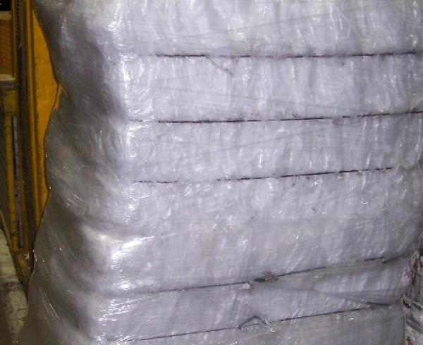 LDPE film scrap 100% clean clear and Dry