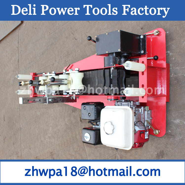 cable puller cable winch  petrol engine