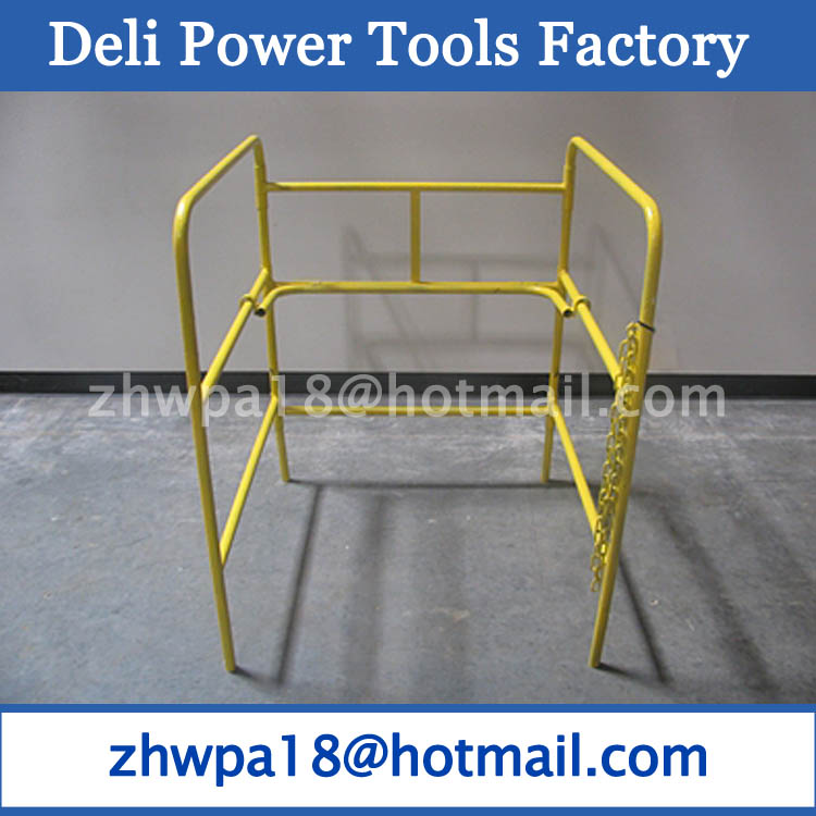 manhole barrier gate guard pedestrian guard yellow