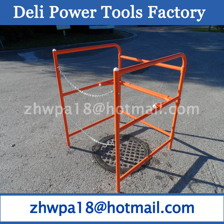 Man hole barrier Work Area Protection Corp 33