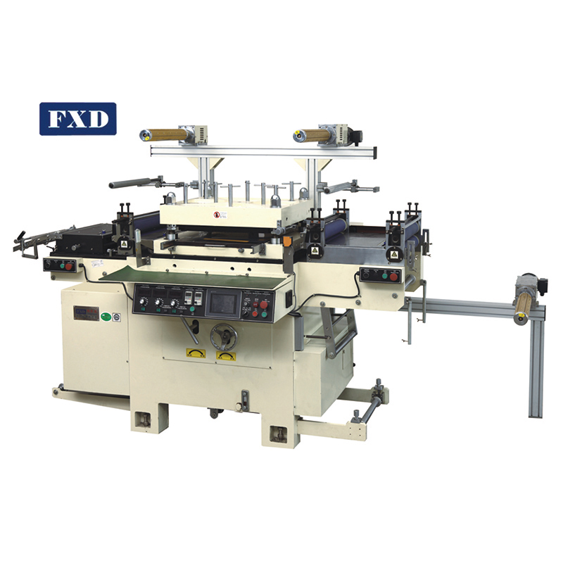 Thin film screen protector die cutting machine