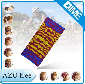 Fashionable Blue Che Guevara Printing Custom Tube Neck Warmer
