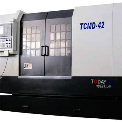 Double Spindle CNC Turning And Milling Center TCMD 42