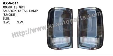 VOLKSWAGEN AMAROK 2012 TAIL LAMP SMOKE