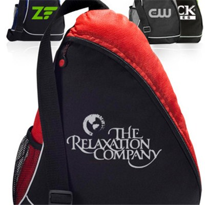 Sling Shot Personalized Sling Backpacks