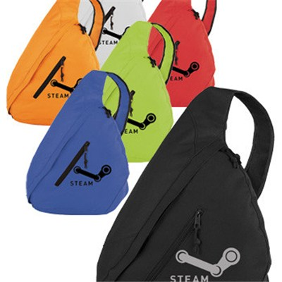 - Promotional Brooklyn Deluxe Sling Backpacks