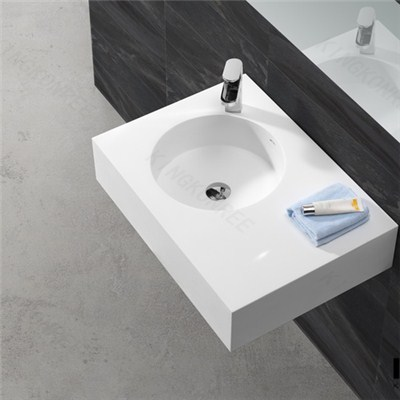 KKR Artificial Acrylic Stone Wash Basin Designs For Dining Room
