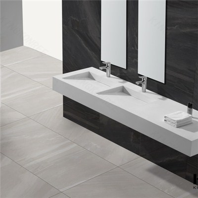 Acrylic Stone Wall-hung Hotel Bathroom Wash Basin Price