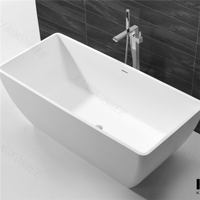 Pure White Cheap Freestanding Bathtub Solid Surface,portable Bathtub Jet Spa