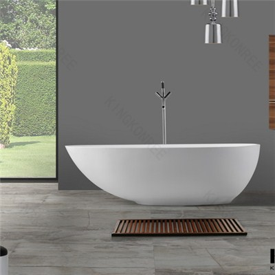 Dubai Freestanding Solid Surfac Bathtub For Sale