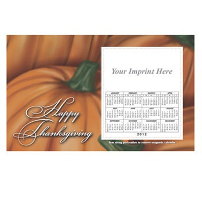 Personalized Pumpkin Patch 8.5inch X 5.25inch Magnets