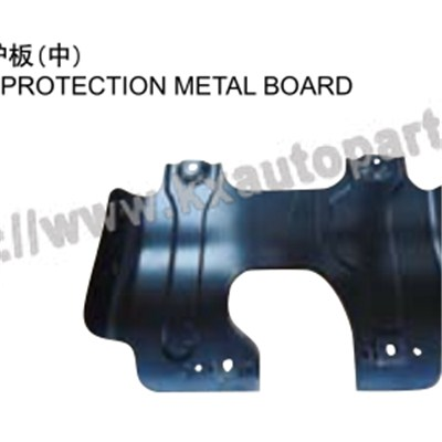 TOYOTA HILUX VIGO MIDDLE ENGINE PROTECTION METAL BOARD