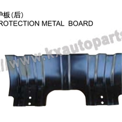 TOYOTA HILUX VIGO BACK ENGINE PROTECTION METAL BOARD