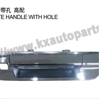 TOYOTA HILUX REVO TAIL GATE HANDLE WITH HOLE