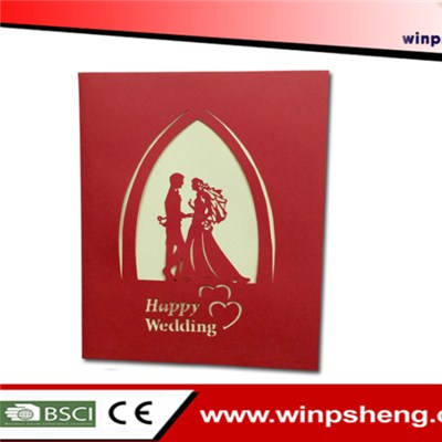Pop Up Wedding Card
