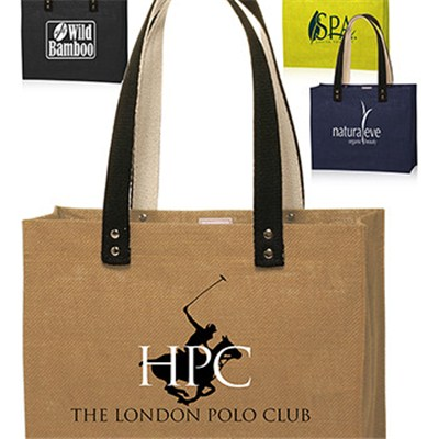 Colored Jute Tote Bags