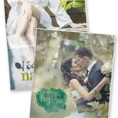Personalized 11x15 Full Color Grab Bags