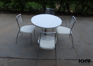 White Dining Table Set, White Round Dining Set, Luxury Italian Dining Tables