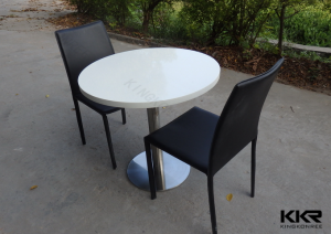 Clear Acrylic Table And Chairs / Solid Surface Dining Table And Chairs