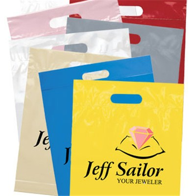 Customized Die Cut Handle Bags