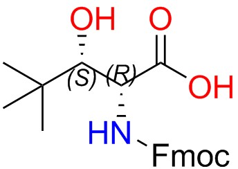 Fmoc-(2R,3S)-2-amino-3-hydroxy-4,4-dimethylpentanoic Acid