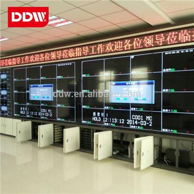 Single Layer Dual Layer Floor Standing Lcd Video Wall Cabinet