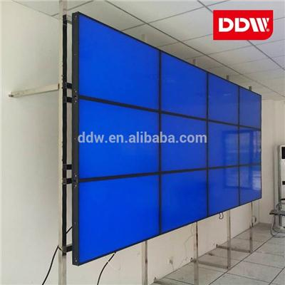 Single Layer Dual Layer Floor Standing Lcd Video Wall Rack