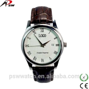 Quartz Stainless Steel Watch Water Resistantv