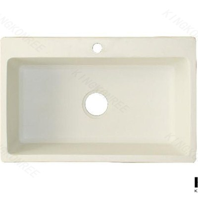 KKR Factory Made Directly Bathroom Quartz Sink
