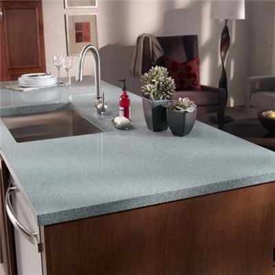 Bending Design Modern Solid Surface Kitchen Countertops
