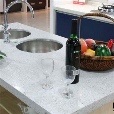 Quartz Stone Solid Surface Kitchen Countertop For Sale
