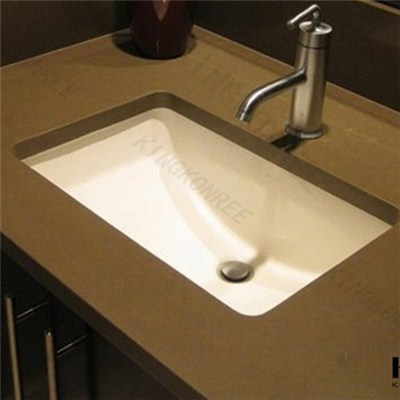 Kingkonree Artificial Stone Bathroom Vanity Top