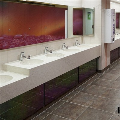 Prefab Solid Surface Lowes Bathroom Countertops