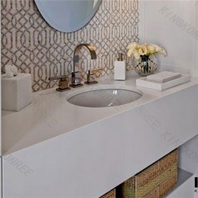 Artificial Stone Custom Bathroom Vanity For Sale