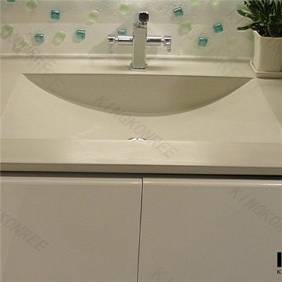 High Quality Synthetic Marble Countertops, Bathroom Countertops