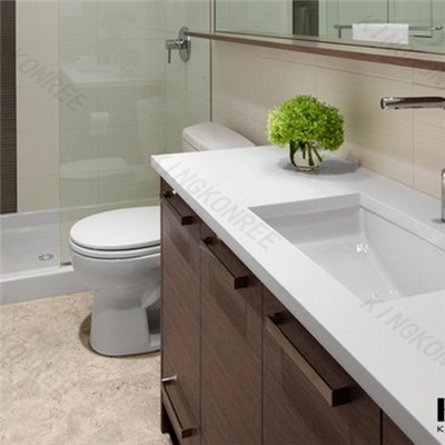 Factory Price Bathroom Vanity Top Salon Countertop